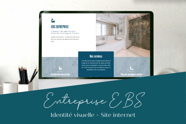 identité visuelle site internet behind you