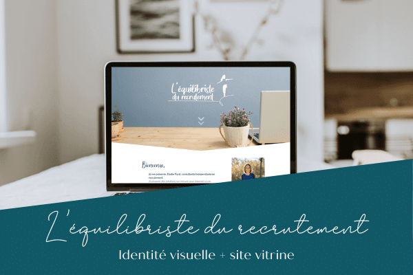 L'équilibriste de recrutement site internet behind you