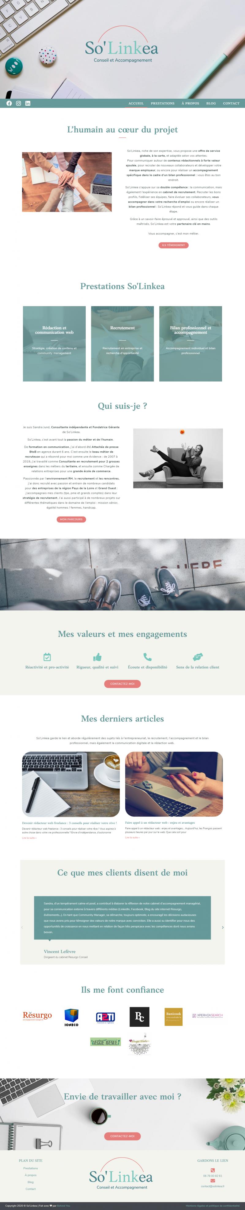 Création de site internet Behind You