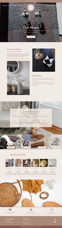 Création site ecommerce Elementor